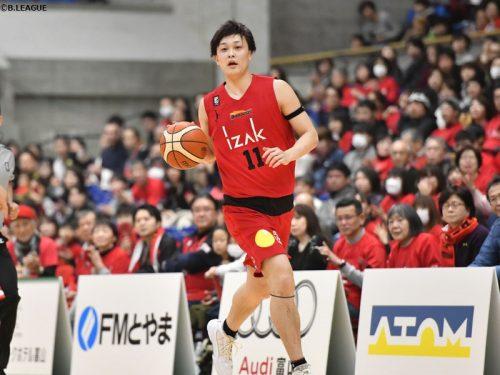 日本代表の宇都直輝、富山グラウジーズに残留「高みを目指し今年こそ!」