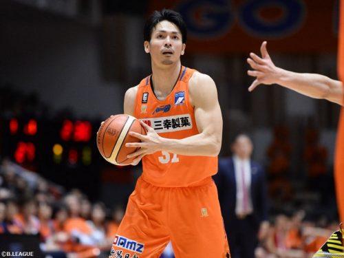 新潟アルビレックスBBが城宝匡史の退団を発表…今季から所属、52試合に出場