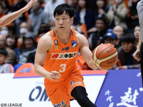 新潟アルビレックスBBの畠山俊樹が大阪エヴェッサへ復帰「辛い決断だった」