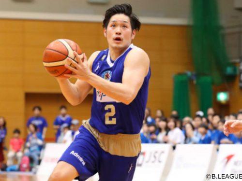 B2ベスト3P成功率賞を獲得した福澤晃平、Fイーグルス名古屋から茨城ロボッツへ移籍