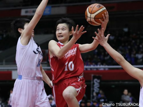 インハイ女子注目選手(2)林未紗(県立足羽)「U16を率いたオールラウンダー」