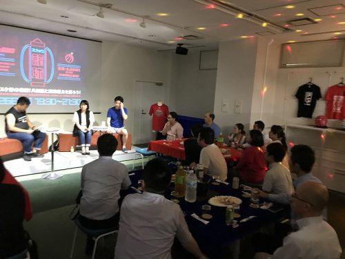 『スナック 籠球』オープン…ファンイベント初回、八村塁と渡邊雄太について語り合う