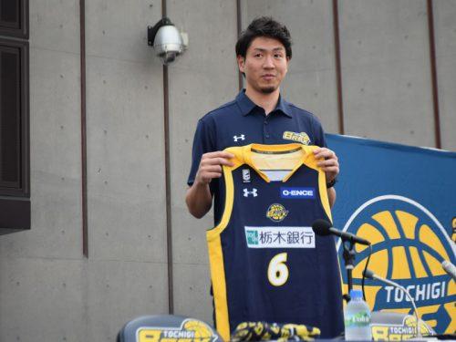 栃木ブレックスへの移籍を決断した比江島慎「もっともっと成長したいという思いがあった」