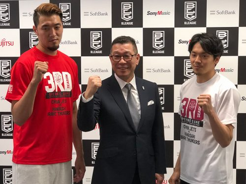 Bリーグ3季目の開幕戦を戦う千葉・川崎の両キャプテンが決意を披露