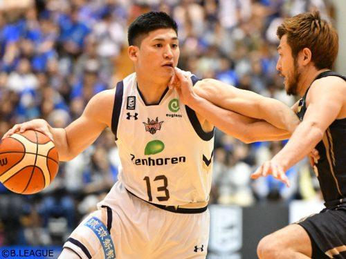 津山尚大、ライジングゼファー福岡への移籍が決定「感謝の気持ちを持って全力でプレーしたい」