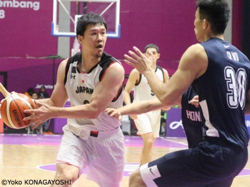 8名で臨んだ男子日本代表、香港との接戦を制す…アジア大会予選ラウンドは2勝1敗で終了