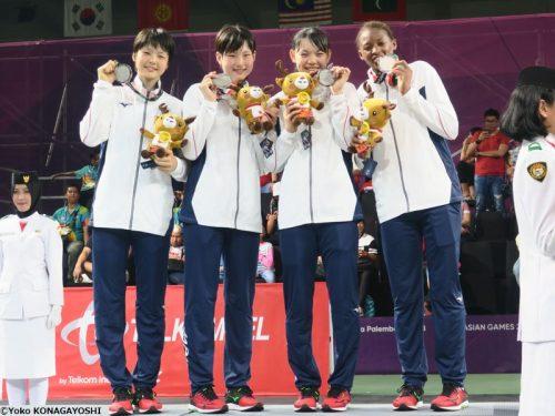 3x3女子代表、金メダル獲得ならず…「経験とサイズの差」で中国に敗戦