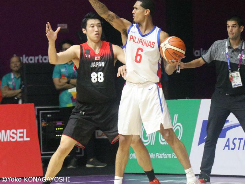 男子代表、フィリピンに大敗…NBA...