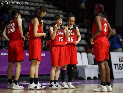女子代表、3勝1敗で予選突破…最終戦はタイを寄せつけず50点差圧勝