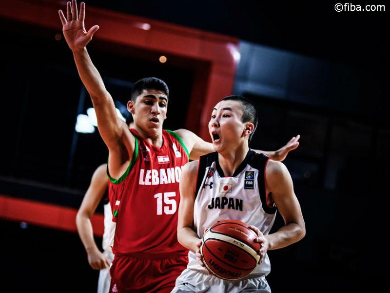 男子U18代表、レバノンに勝利しベスト8…次戦は豪州と激突