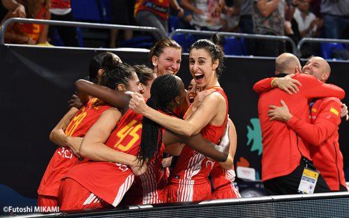 女子ワールドカップはベスト4が決定! 地元スペインが大逆転で準決勝へ!!