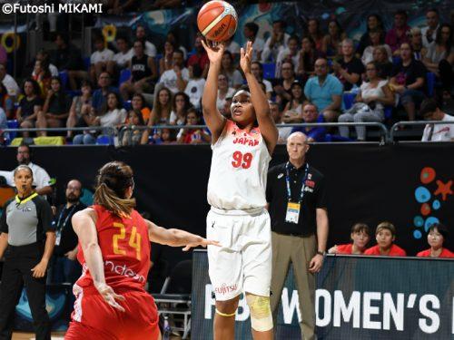 女子日本代表、強豪スペインに敗れるも…そのなかに一筋の光明
