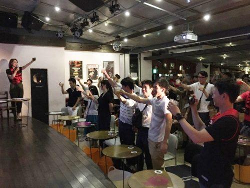 総勢70名を超える魂の声援!大盛況に終わった日本vsカザフスタンの『日本バスケ応宴NIGHT』