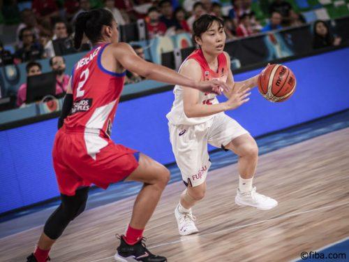 女子日本代表がプエルトリコに8点差勝利、2勝1敗で予選突破が決定