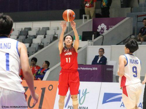 銅メダル獲得に安堵する主将の篠崎澪「日本のバスケットができた」