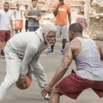 "Kyrie Irving as ""Uncle Drew"" in UNCLE DREW. Photo courtesy of Lionsgate."