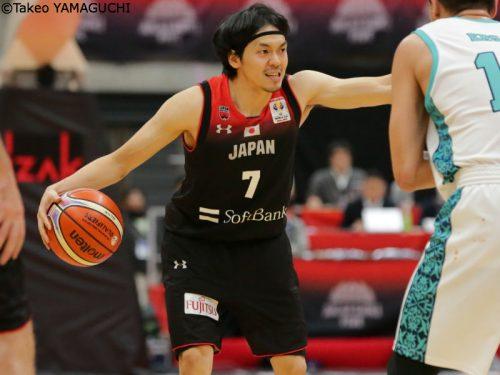 """日本代表のキャプテン篠山竜青「チームの成長を感じている」、""""同僚""""ファジーカスは「嗅覚がすごい」"""