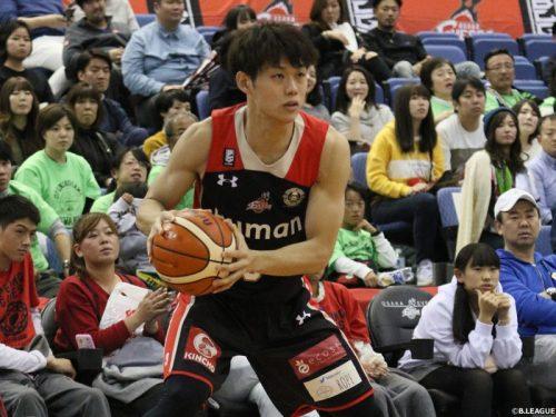 第16節のベストオブタフショット、藤高宗一郎のバスケットカウントが1位