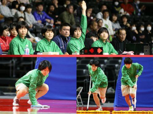"""日本一の大会を支える""""黒子の高校生""""、ウインターカップを支えるT.O(ティー・オー)って何?"""