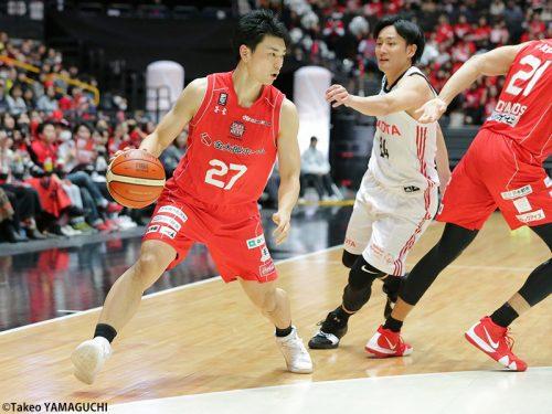 チームのバランサー石井講祐が、千葉の3年連続決勝進出へ大きく貢献!