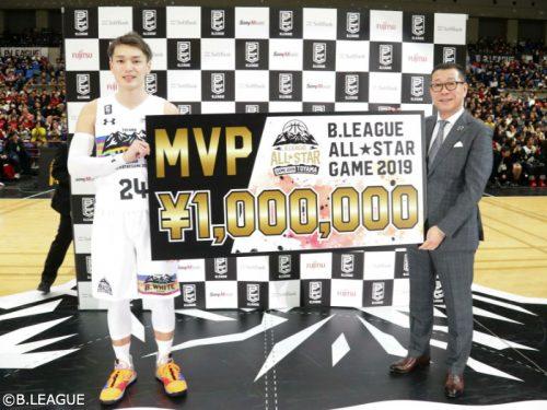Bリーグオールスター、B.WHITEが2年連続勝利…MVPは富山グラウジーズの大塚裕土