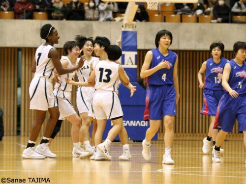 岐阜女子が東海新人大会2年ぶりの優勝、堅いディフェンスを武器に桜花学園との激戦を制す