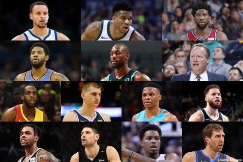 【出場選手&選手紹介一覧】NBAオールスター2019 TEAMヤニス