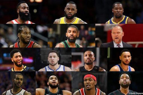 出場選手&選手紹介一覧】NBAオールスター2019 TEAMレブロン ...