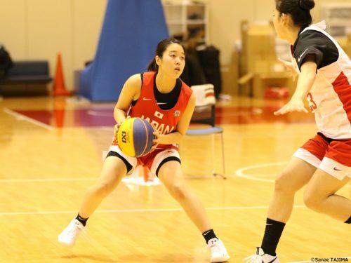 3x3女子日本代表候補強化合宿でWリーグの選手たちが躍動