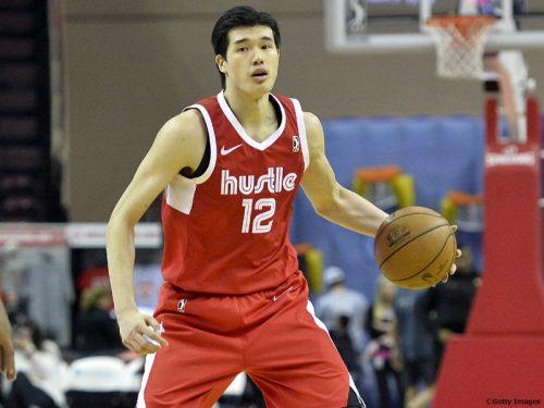 渡邊雄太、34分のプレータイムで19得点を記録…ハッスルは2連敗
