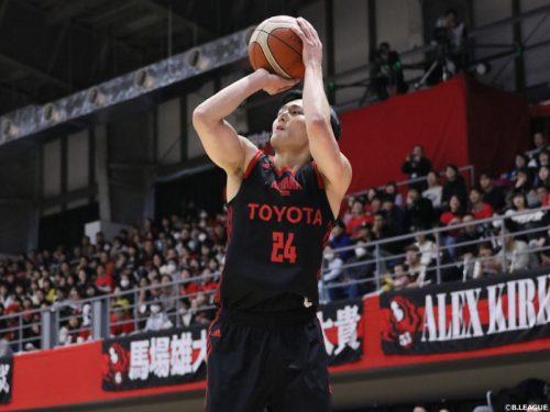 日本代表の田中大貴、キャリア6季目で個人通算3000得点を達成