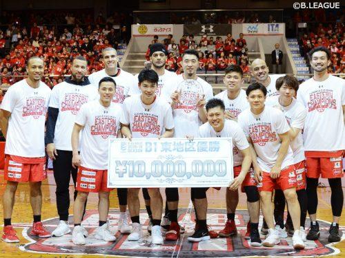 千葉ジェッツが2季連続で東地区を制覇、50勝目を挙げリーグ最多勝利数も更新