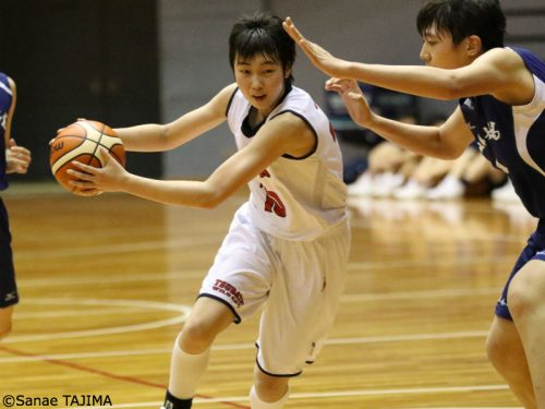 2019年の女子注目選手(5)中道玲夏(津幡)「成長著しく、走力が魅力のセンター」