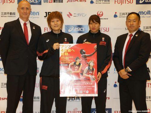女子日本代表、ベルギー戦のメンバー決定…渡嘉敷来夢は不在、長岡萌映子や町田瑠唯など15名