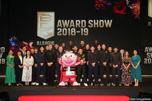 【写真ギャラリー】2019.5.15 B.LEAGUE AWARD SHOW 2018-19