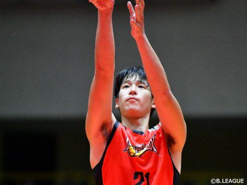 三遠ネオフェニックスが菅野翔太と契約締結、加入1季目の今季は41試合に出場