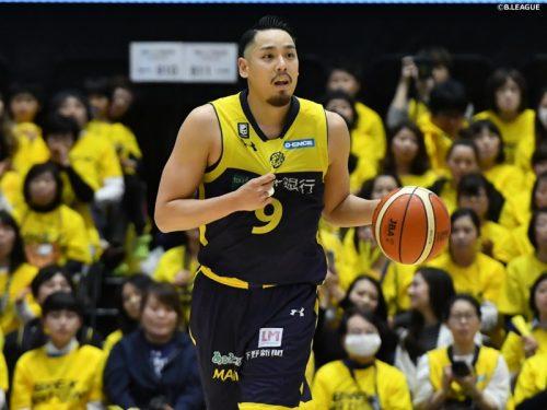 ベスト5受賞の遠藤祐亮、栃木ブレックスと契約継続…在籍通算8シーズン目に突入