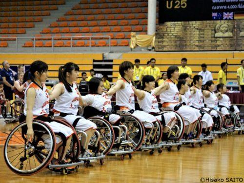 女子U25車いすバスケ世界選手権開幕!日本は前回覇者に善戦も黒星スタート
