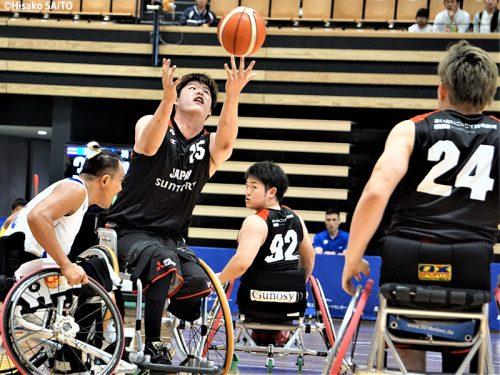 車いすバスケ男子日本代表、親善試合で圧勝も残された課題