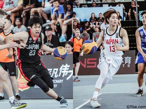 W杯に臨む3×3男女日本代表メンバーが決定…18日からオランダで開催