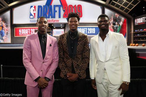「NBAドラフト2019」1巡目指名一覧、デューク大の1年生3選手がトップ10指名