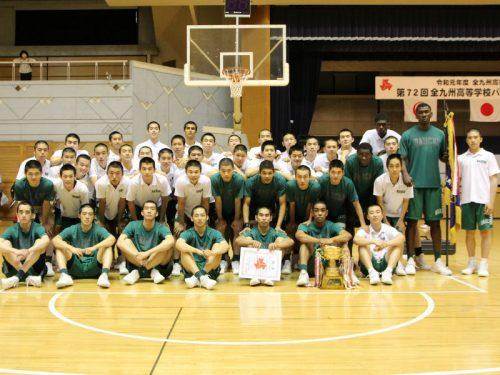 福岡第一が九州大会3連覇達成、4試合中3試合で100点ゲームを演じる