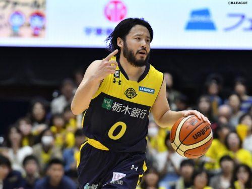 38歳の田臥勇太、栃木ブレックスに残留決定…在籍12シーズン目に突入