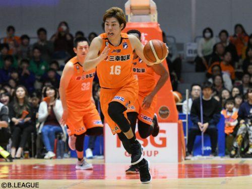 新潟アルビレックスBBに今季加入の渡辺竜之佑が退団「初めての移籍先が新潟で良かった」