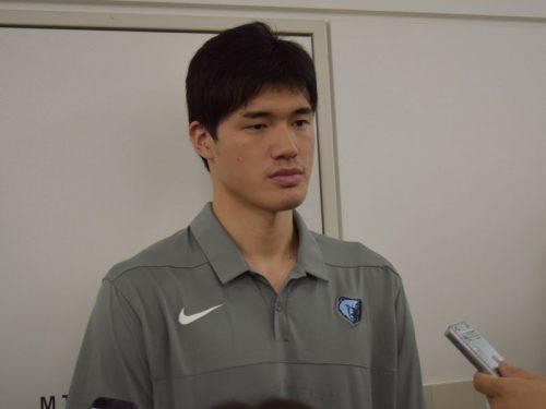 サマーリーグを終えた渡邊雄太が帰国「充実していたし、楽しかった」