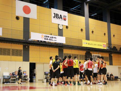 男子日本代表、2次合宿の模様を公開…サイズのある若手中心でジョーンズ杯へ