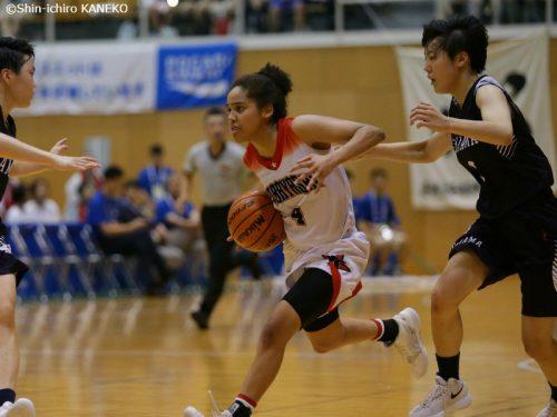 京都精華学園が100点ゲームの好発進、小林も尼崎に42点差快勝/インターハイ女子1回戦