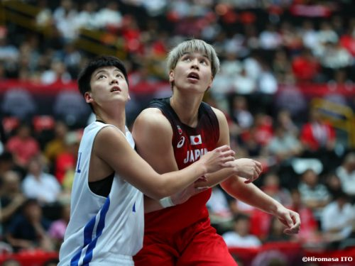 日本代表、チャイニーズタイペイを相手に32点差の快勝…渡嘉敷来夢は10得点7リバウンドをマーク