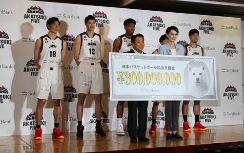 W杯に向けたソフトバンクの激励会に5名の日本代表選手が出席