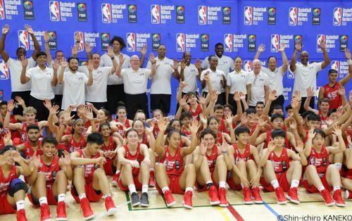 バスケットボール・ウィズアウト・ボーダーズ・キャンプ・アジア2019が東京で開幕!